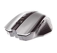 MJT JT3236 Wireless Mouse Optical Mouse 2.4GHz 1600DPI  5 keys Design Silver