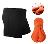 Nuckily Cycling Under Shorts Women's Unisex Bike Shorts Boxers Underwear Shorts Padded Shorts/Chamois Bottoms Bike Wear Quick Dry