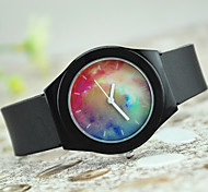 Couple's European Style Fashion Star Watch Fireworks Silicone Watch Gift Cool Watches Unique Watches