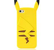 Karikaturtierfigur Silikon weiche rückseitige Abdeckung für iPhone 4 / 4S (farbig sortiert)