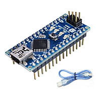 cheap -Nano V3.0 ATMEGA328P for Arduino (Works with Official Arduino Boards)