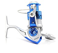 CS3000 CS4000 8BB Ball Bearings 5.2:1 Left/Right Interchangeable Collapsible Handle Fishing Spinning Reel