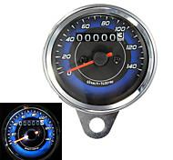 cheap -Motorcycle LED Odometer & Tachometer Meter Gauge 0-140Km/h