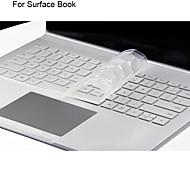 Недорогие -xskn ультра кожа тонкая прозрачный ТПУ кожи клавиатуры полупрозрачный клавиатура для Microsoft Surface книги, нам макет