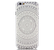 abordables -Para Funda iPhone 7 / Funda iPhone 7 Plus / Funda iPhone 6 / Funda iPhone 6 Plus Transparente / Diseños Funda Cubierta Trasera Funda
