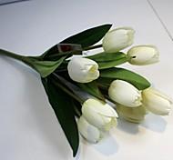 Недорогие -Искусственные Цветы 1 Филиал Простой стиль Тюльпаны Букеты на стол