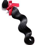 Tejidos Humanos Cabello Cabello Brasileño Ondulado Grande 12 meses 1 Pieza los tejidos de pelo