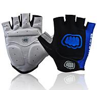 Недорогие -FJQXZ Спортивные перчатки Перчатки для велосипедистов Износостойкий Без пальцев Сетка Велосипедный спорт / Велоспорт Муж. Жен.