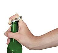 кольцо форма портативный нержавеющей стали бутылка пива напитков открывалка
