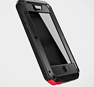 cheap -For iPhone 8 iPhone 8 Plus iPhone 7 iPhone 7 Plus iPhone 6 iPhone 6 Plus iPhone 5 Case Case Cover Water/Dirt/Shock Proof Full Body Case