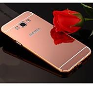 Недорогие -Для Кейс для  Samsung Galaxy Покрытие / Зеркальная поверхность Кейс для Задняя крышка Кейс для Один цвет Акрил Samsung A8 / A7 / A5 / A3