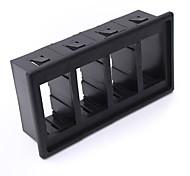 iztoss 4 черный пластик тип держателя тумблер клип панель корпуса АРБ Carling