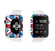 Недорогие -для Apple Наблюдать iwatch 38мм красочные протектор экрана 42мм спереди и протектором задней экраном
