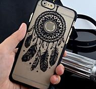 Недорогие -новая матовая рельефная картина колокольчики печати материал ПК телефон случае для iphone 6 / 6с (ассорти цветов)