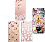 maycari®baymax weiche transparente TPU Tasche für iPhone 6 plus / 6s plus (verschiedene Farben)