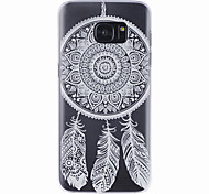 cheap -LOGROTATE®Dream Catcher Pattern Hard Case with Screen Protectors for Samsung Galaxy S7/S7 edge/S6/S6 edge