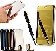 Недорогие -зеркало заднего вида экран флип кожаный смарт-чехол для Huawei g7plus / g8 / d199 / maimang 4 (цвет ассорти)