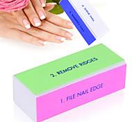 Недорогие -искусства ногтя буфера блок файла педикюр маникюр полировка шлифовка ногтей косметические средства для макияжа белый