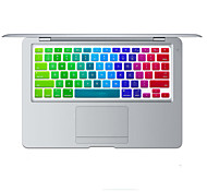 cheap -Rainbow Bright Design Silicone Keyboard Cover Skin for MacBook Air 11.6 US Layout