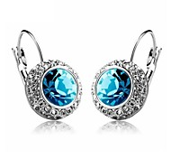 cheap -Women's Stud Earrings Hoop Earrings Crystal Jewelry Wedding Party Daily Casual Costume Jewelry