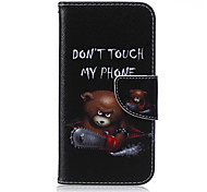 For Samsung Galaxy Case Card Holder / Wallet / with Stand / Flip Case Full Body Case Cartoon PU Leather SamsungJ7 / J5 / J3 / J2 / J1 Ace