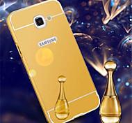 Недорогие -Для Кейс для  Samsung Galaxy Покрытие / Зеркальная поверхность Кейс для Задняя крышка Кейс для Один цвет Акрил SamsungA7(2016) / A5(2016)
