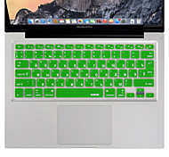 XSKN Russian Language Keyboard Cover Silicone Skin for Macbook Air/Macbook Pro 13 15 17 Inch US/EU version