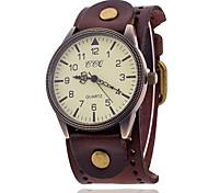 cheap -Xu™ Men's Quartz Wrist Watch Hot Sale Nylon Band Charm Black White Blue Red Orange Brown Green