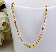 cheap -Women's 18K Gold Chain Necklace  -  Gold Necklace For