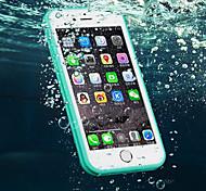 Недорогие -новый TPU водонепроницаемый отпечатков пальцев, чтобы разблокировать все включено случай телефона для Iphone 6 / 6S 4.7 (ассорти цветов)