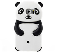 2016 3D Cartoon Animals Cute Panda Soft Silicone Case For Galaxy S6/S5/S4/S3