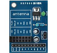 NRF905 Wireless Module Socket Adapter Plate Board for Arduino+ Raspberry Pi - Blue