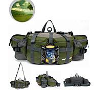 6L L Поясные сумки Походные рюкзаки Велоспорт Рюкзак Путешествия Вещевой Пояс ЧехолОхота Рыбалка Восхождение Верховая езда Велосипедный