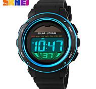Недорогие -Спортивные часы Мужчины / Женские / Унисекс LCD / Календарь / Секундомер / Защита от влаги / С двумя часовыми поясами / Спортивные часы