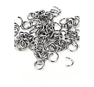 Vilam®10 Pcs Zinc Alloy 8mm Very Hard Hooks Used for Connecting Jewelry