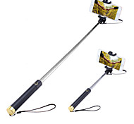 cheap -Selfie Stick with A Built-in Remote Shutter Mini3 Extendable Handled Stick Designed for IOS, Android Smartphones