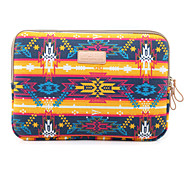 Недорогие -Индийский стиль холст сумка для ноутбука сумка чехол сумка для ноутбука рукав для Macbook Air 11.6 / 13.3 12 MacBook MacBook Pro / 13.3