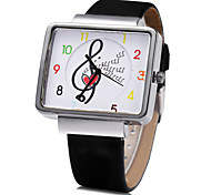 Women's Music Design PU Band Quartz Wristwatch Cool Watches Unique Watches Fashion Watch