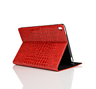 9.7 Inch Crocodile Skin Pattern Pu Leather Case with Stand for ipad pro 9.7