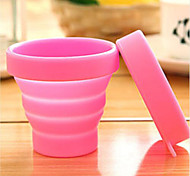 Portable Silicone Retractable Folding Cup Telescopic Collapsible Outdoor Travel Water Bottles