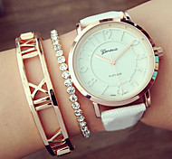 Geneva Quartz Analog WristWatch Fashion Women's Watches Hollow Numerals  Montres Femme Girls Watch Gift idea Cool Watches Unique Watches