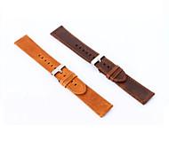 baratos -20 mm de couro genuíno fivela relógio esportivo para Samsung engrenagem s2