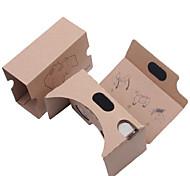 DIY  Cardboard Virtual Reality 3D Glasses VR Tookit(Upgraded version 34mm Lens)