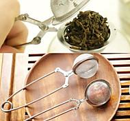 Недорогие -чай заварки нержавеющей стали чайника для заварки шар сетка ситечко ручка шарик чая