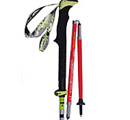KORAMAN Outdoor Trekking Pole Ultralight Carbon Fiber Retractable Portable Hiking Walking