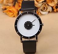 Men Watches Casual Fashion Boy Students Leather Quartz Wristwatch Personalized Relojes Fashion Couple Watches Wrist Watch Cool Watch Unique Watch