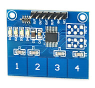 Capacitive Touch Switch Module Digital TTP224 4-way Touch Sensor for Arduino