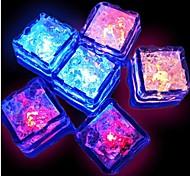 Недорогие -12шт Водонепроницаемый Светодиодная посуда Декоративное освещение пластик