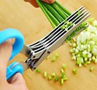 1 ед. ножничный For Для овощного Нержавеющая сталь Высокое качество / Творческая кухня Гаджет / Многофункциональный