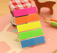 cheap -Solid Color Stripe Self-Stick Notes(1 PCS)